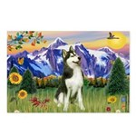 Mt Country & Husky Postcards (Package of 8)