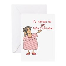 I'd rather be 50 Greeting Cards (Pk of 10)