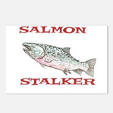 salmon stalker Postcards (Package of 8)