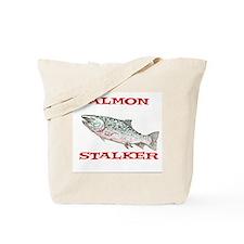 salmon stalker Tote Bag