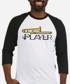 Trombone Player Baseball Jersey