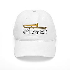 Trombone Player Baseball Cap