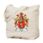 Hayn Family Crest Tote Bag