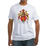 Hayn Family Crest Fitted T-Shirt