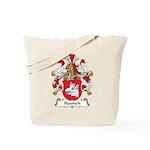 Hautsch Family Crest Tote Bag