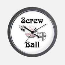 Screwball R us Wall Clock