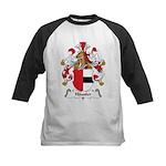 Hausler Family Crest Kids Baseball Jersey