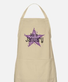 Purple Star Due In January BBQ Apron