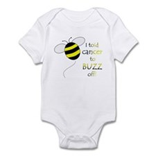CANCER BUZZ OFF Infant Bodysuit