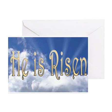 He is Risen Greeting Cards (Pk of 10)