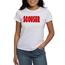 Scouser Red w/Black 2 Tee