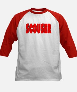 Scouser Red w/Black 2 Tee