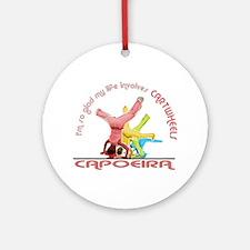 Capoeira Cartwheels Ornament (Round)