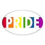 Pride Pop Oval Sticker (50 pk)