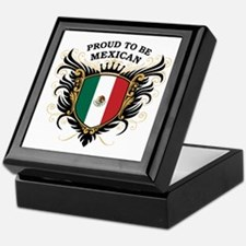 Proud to be Mexican Keepsake Box