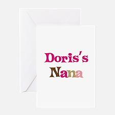 Doris's Nana Greeting Card