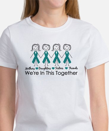 We're In This Together (Ovarian) Women's T-Shirt
