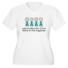 We're In This Together (Ovarian) T-Shirt