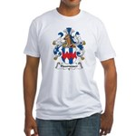 Haumesser Family Crest Fitted T-Shirt