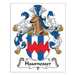 Haumesser Family Crest Small Poster