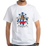 Haumesser Family Crest White T-Shirt