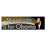 Minnesota is for Obama bumper sticker