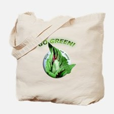 Go Green Save the Frogs Tote Bag