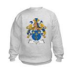 Haugk Family Crest Kids Sweatshirt
