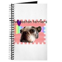 LOVE MY BOSTON TERRIER Journal