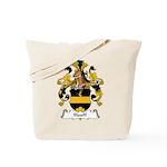 Hauff Family Crest Tote Bag