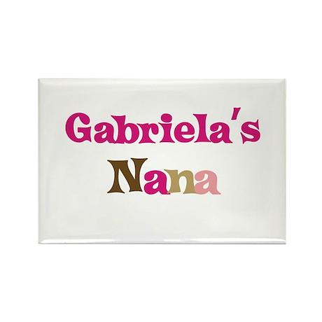 Gabriela's Nana Rectangle Magnet (10 pack)