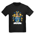 Hatten Family Crest Kids Dark T-Shirt