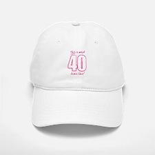 40 Baseball Baseball Cap