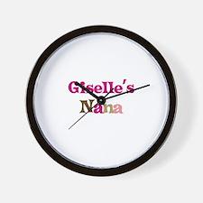 Giselle's Nana Wall Clock