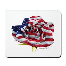American Rose Mousepad