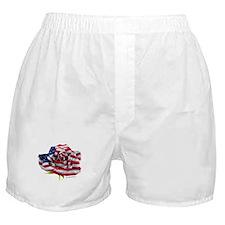 American Rose Boxer Shorts