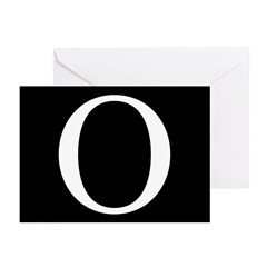 O Greeting Cards (Pk of 10)