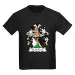 Hasenberg Family Crest Kids Dark T-Shirt