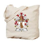 Haseler Family Crest Tote Bag