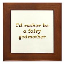 IRB Fairy Godmother Framed Tile