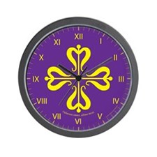 Calontir Ensign Wall Clock