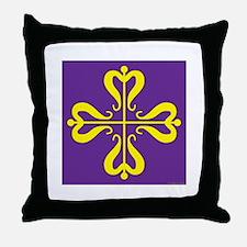 Calontir Ensign Throw Pillow