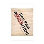 Ron Paul Constitution Rectangle Sticker 50 pk)