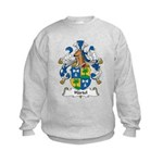 Hartel Family Crest Kids Sweatshirt