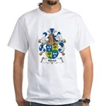 Hartel Family Crest White T-Shirt