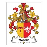 Harsch Family Crest Small Poster