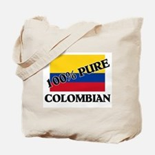 100 Percent COLOMBIAN Tote Bag