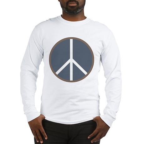 Classic Peace Sign Long Sleeve T-Shirt