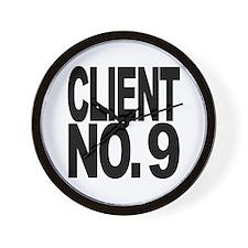 Client No. 9 Wall Clock