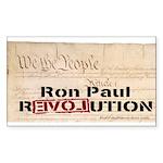 Ron Paul Preamble-C Rectangle Sticker 50 pk)